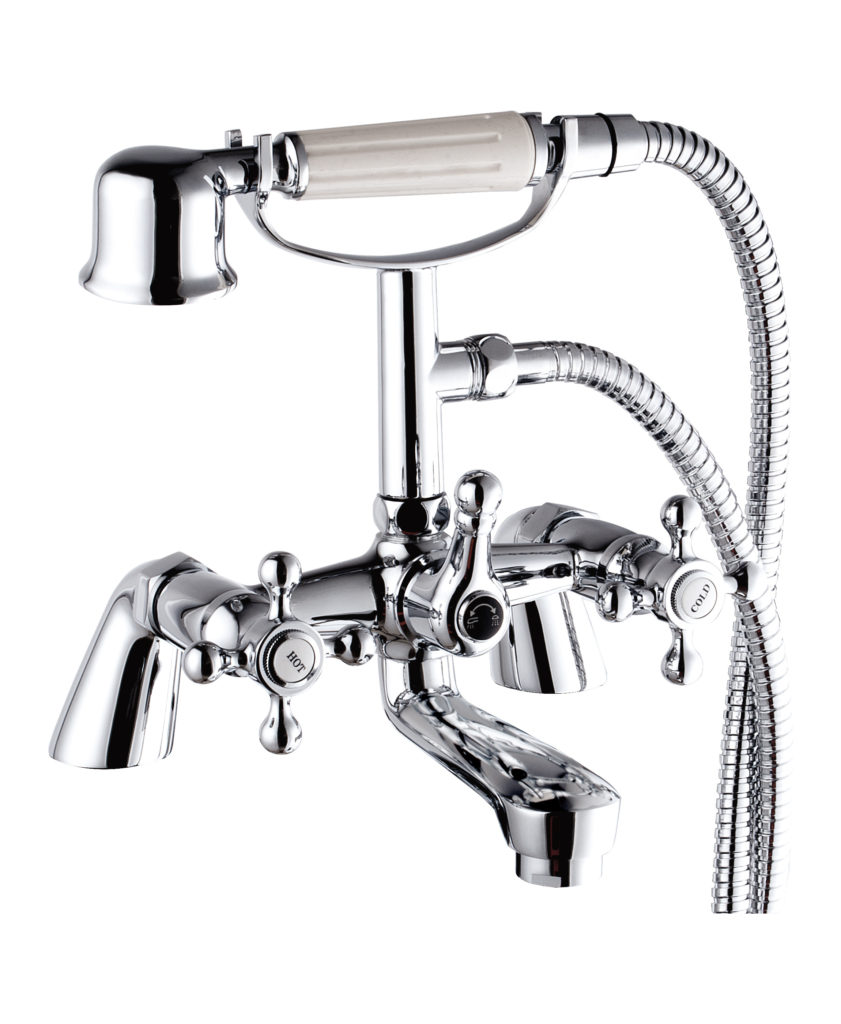 Oxford Bath Shower Mixer - Aqualla Brassware
