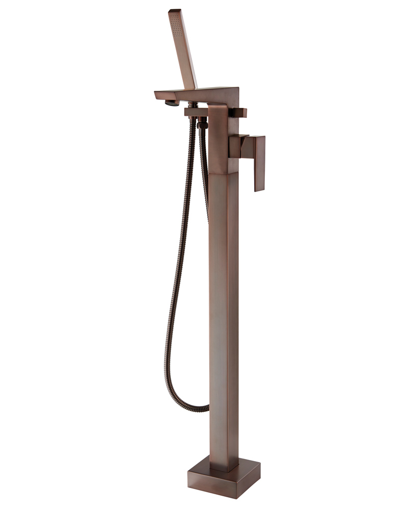 Ramore Freestanding Bath Shower Mixer - Aqualla Brassware